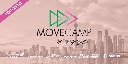 MoveCamp Toronto - Free Lunchtime Fitness Event at Trinity Bellwoods Park