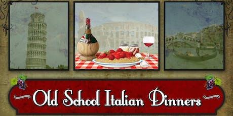 Old School Italian Dinners: Soulful Italian tickets