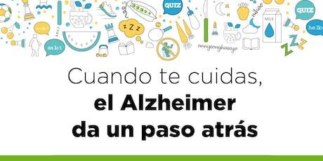 Cuando te cuidas el Alzheimer da un paso atrás. BILBAO entradas