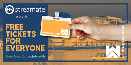 Webmaster Access Amsterdam 2019 tickets