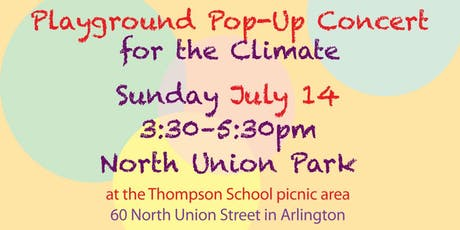 Playground  Concert for Climate with Mothers Out Front and Tardigrade Stage tickets