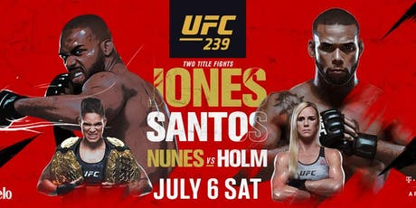 UFC 239 at Humperdinks Brewpub tickets