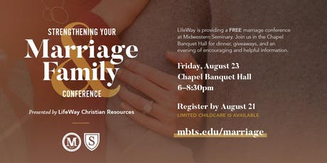 Strengthening Your Marriage & Family Conference presented by Lifeway tickets