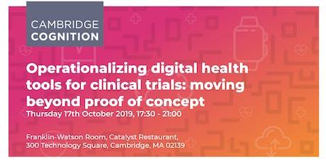 Digital Health Evening 2019 tickets