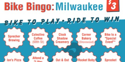 Milwaukee Bike Bingo (2019)