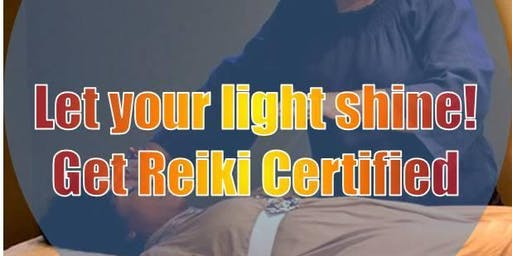 Usui Reiki 1 Certification Workshop