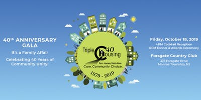 Triple C Housing - 40th Anniversary Gala