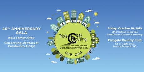 Triple C Housing - 40th Anniversary Gala tickets