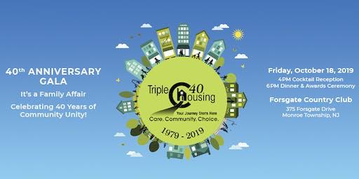 Triple C Housing - 40th Anniversary Gala