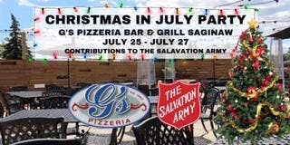 G's Pizzeria Christmas in July