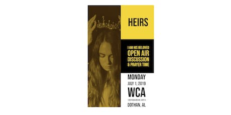 Heirs - I Am His Beloved - Open Air Discussion tickets