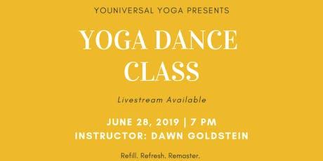 YOGA  DANCE  CLASS with Dawn Goldstein tickets