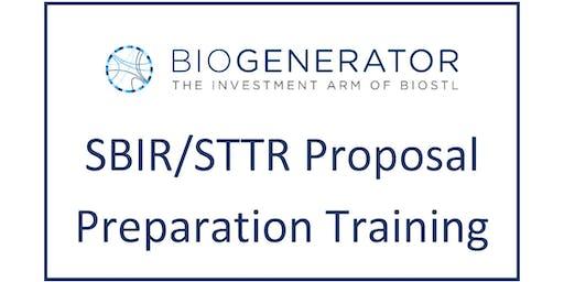 SBIR STTR Training Seminar