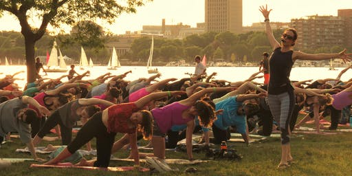 River Fit: Sunset Yoga led by Sara DiVello