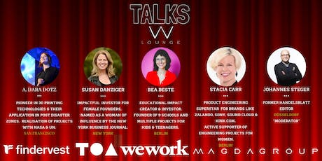 TALKS by WLOUNGE - BUILDING THE ROLE-MODELS OF THE FUTURE tickets