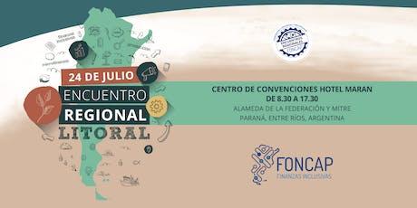 Encuentro Regional Microfinanzas Litoral 2019 entradas