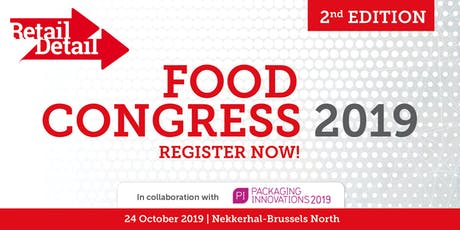 RetailDetail Food Congress 2019 tickets