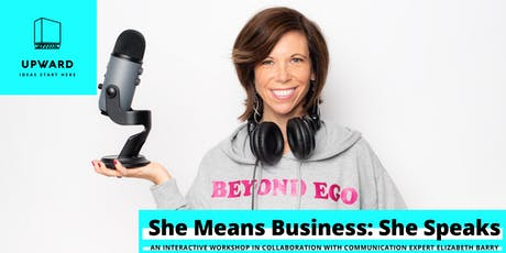 She Means Business: She Speaks tickets