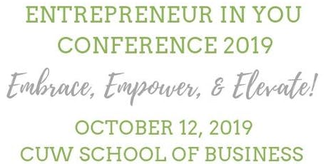 Entrepreneur In You Conference 2019 tickets