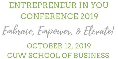 Entrepreneur In You Conference 2019
