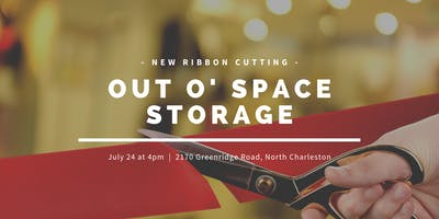 Out O' Space Storage Ribbon Cutting