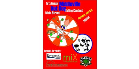 1st Annual Middleville Hot Dog Eating Contest! tickets