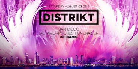 DISTRIKT •San Diego •Metamorphoses Fundraiser tickets