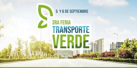 3ra FERIA TRANSPORTE VERDE entradas