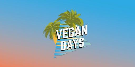 Vegan Days - Sat 3rd & Sun 4th August 2019