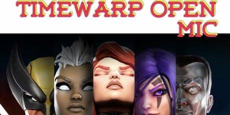 Timewarp Open Mic tickets