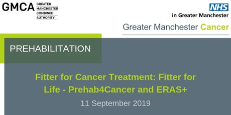 Fitter for Cancer Treatment: Fitter for Life - Prehab4Cancer and ERAS+ tickets
