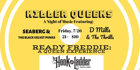 Killer Queens: An Evening of Tributes to Queen tickets