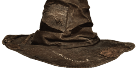 Harry Potter Sorting Hat - it's your sort of hat making party tickets