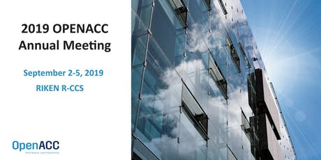 2019 OpenACC  Annual Meeting tickets