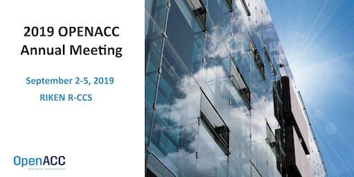 2019 OpenACC  Annual Meeting