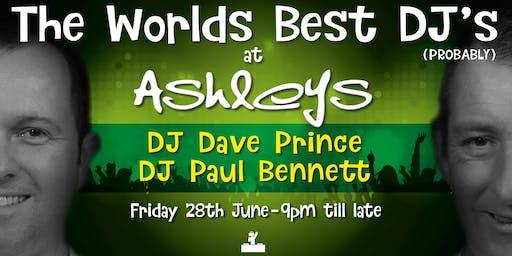 DJ Dave & Paul @ Ashley's bar, Shrewsbury