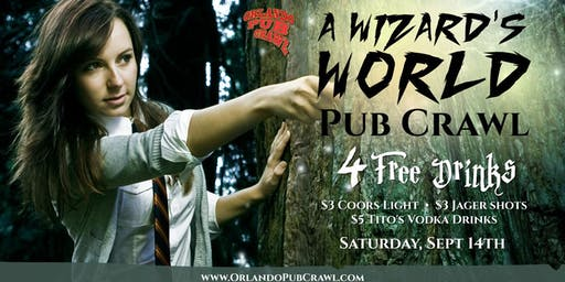 A Wizard's World Pub Crawl (Orlando)