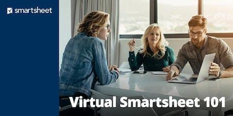 Smartsheet 101 - October 23rd-24th tickets