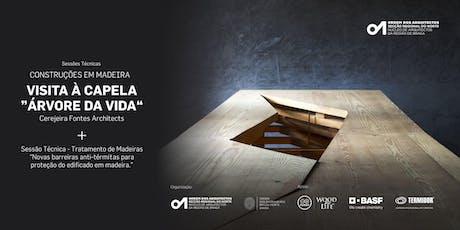 "Capela ""Árvore da Vida"" - Visita Guiada bilhetes"