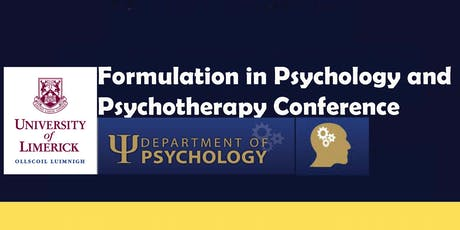 Formulation in Psychology and Psychotherapy Conference tickets
