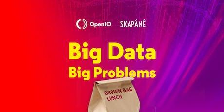Brown Bag Lunch - OpenIO et Skapanê billets