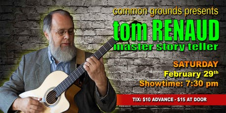 Tom Renaud: The Leap Year Concert tickets