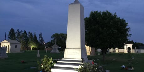 Anaheim Cemetery Nighttime Historical Walk tickets