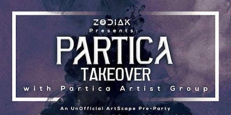 Zodiak Presents: Partica Takeover ft Anoxex  tickets