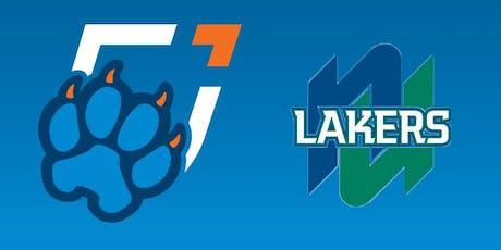 Ontario Tech Basketball vs. Nipissing University Lakers tickets