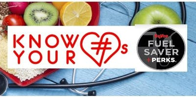 Know Your Numbers: Fuel Saver + Perks Event!