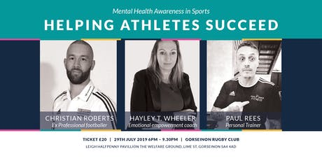 Helping Athletes Succeed - Mental Health in Sports  tickets