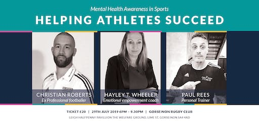 Helping Athletes Succeed - Mental Health in Sports