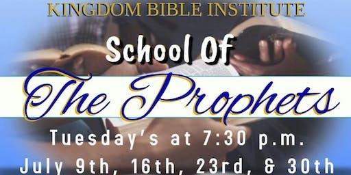 School Of The Prophets