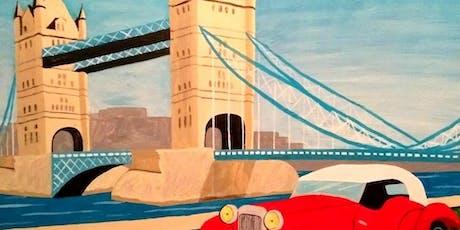 Paint Art Deco London! Notting Hill Gate, Thursday 12 September tickets